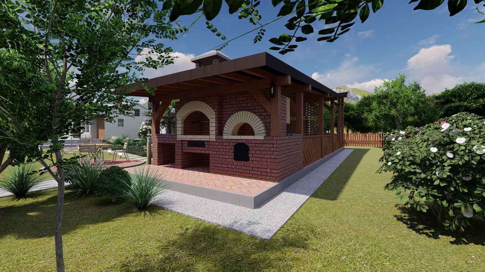 pavilion for gardens
