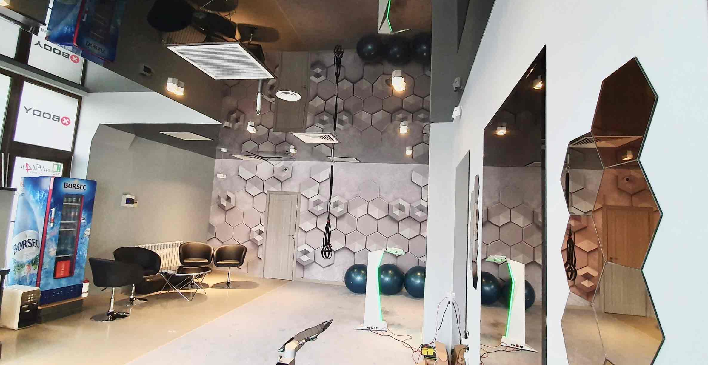 amenajare sala de fitness