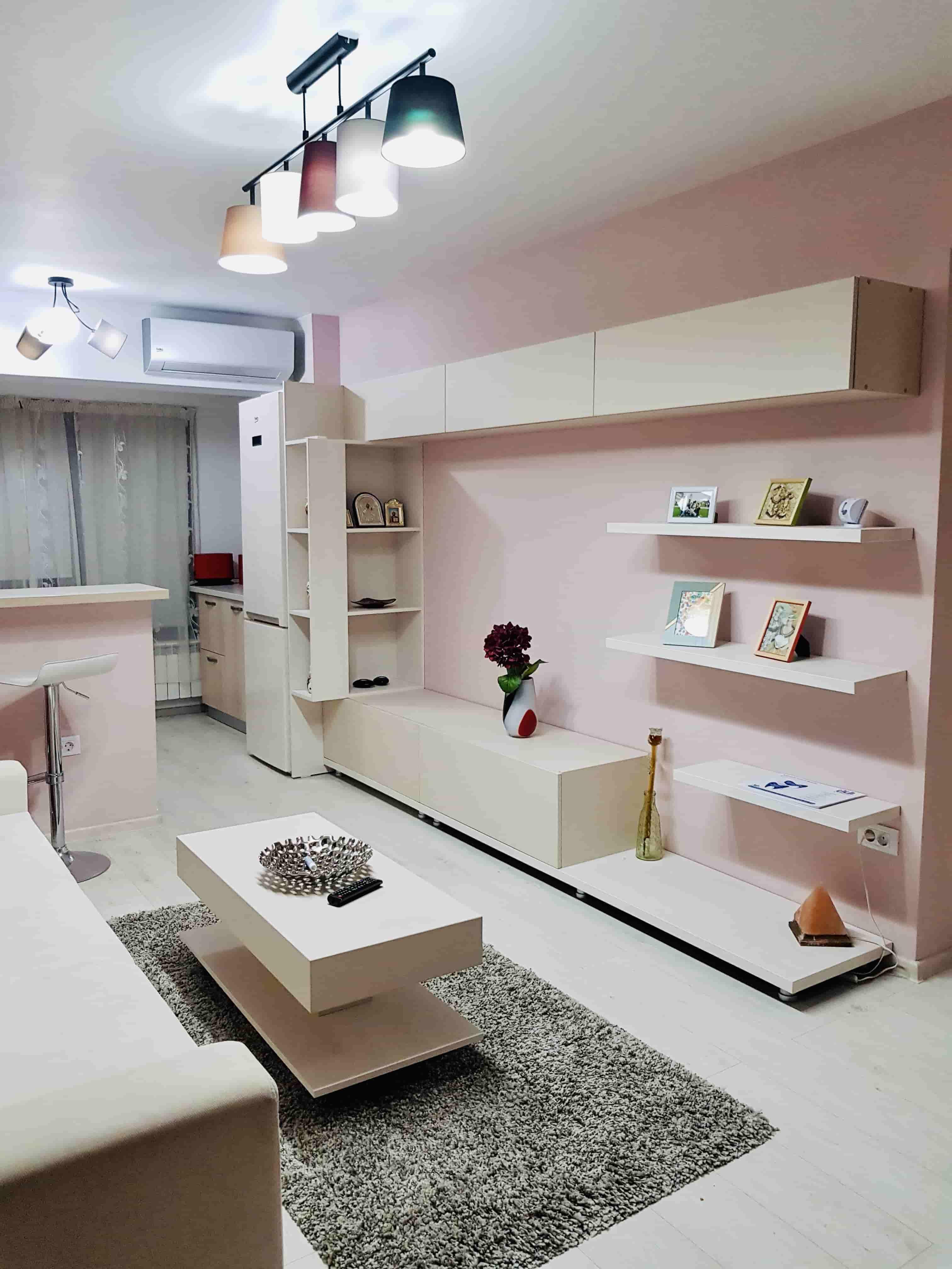 camera de zi roz