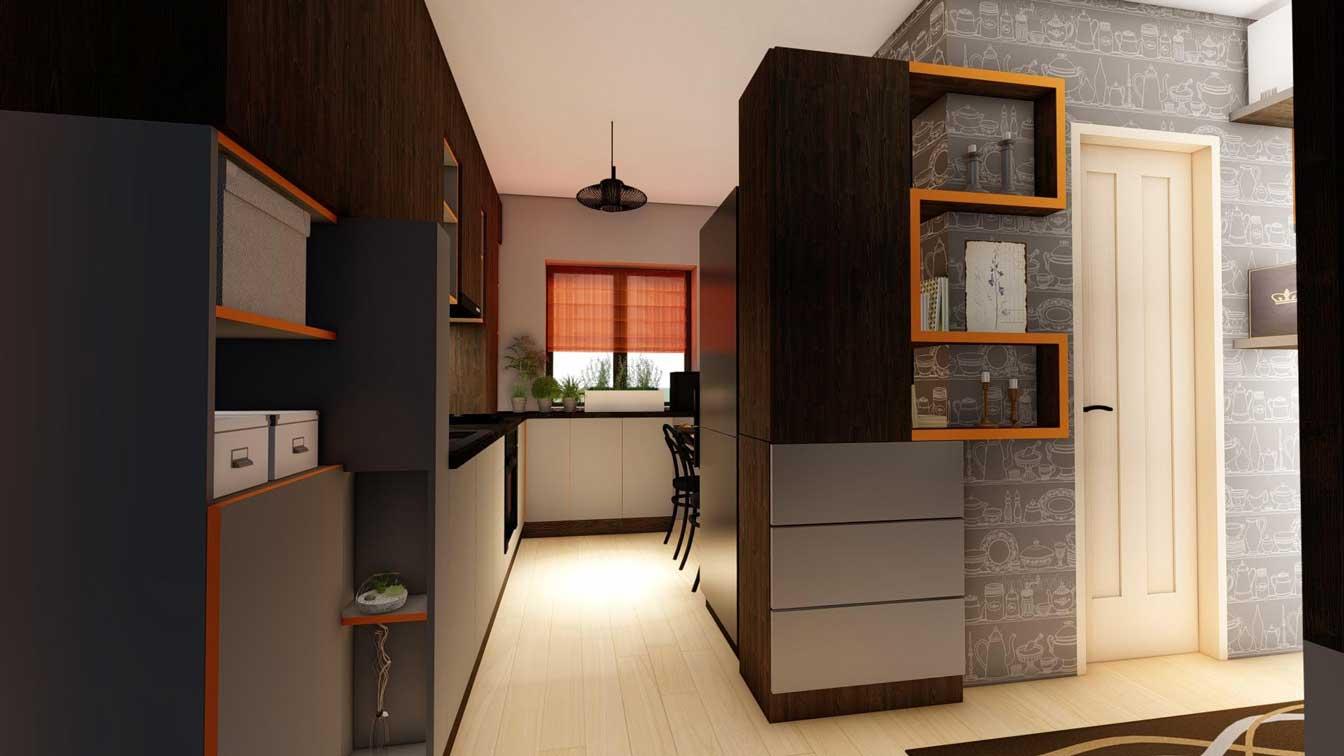 intrare apartament modern