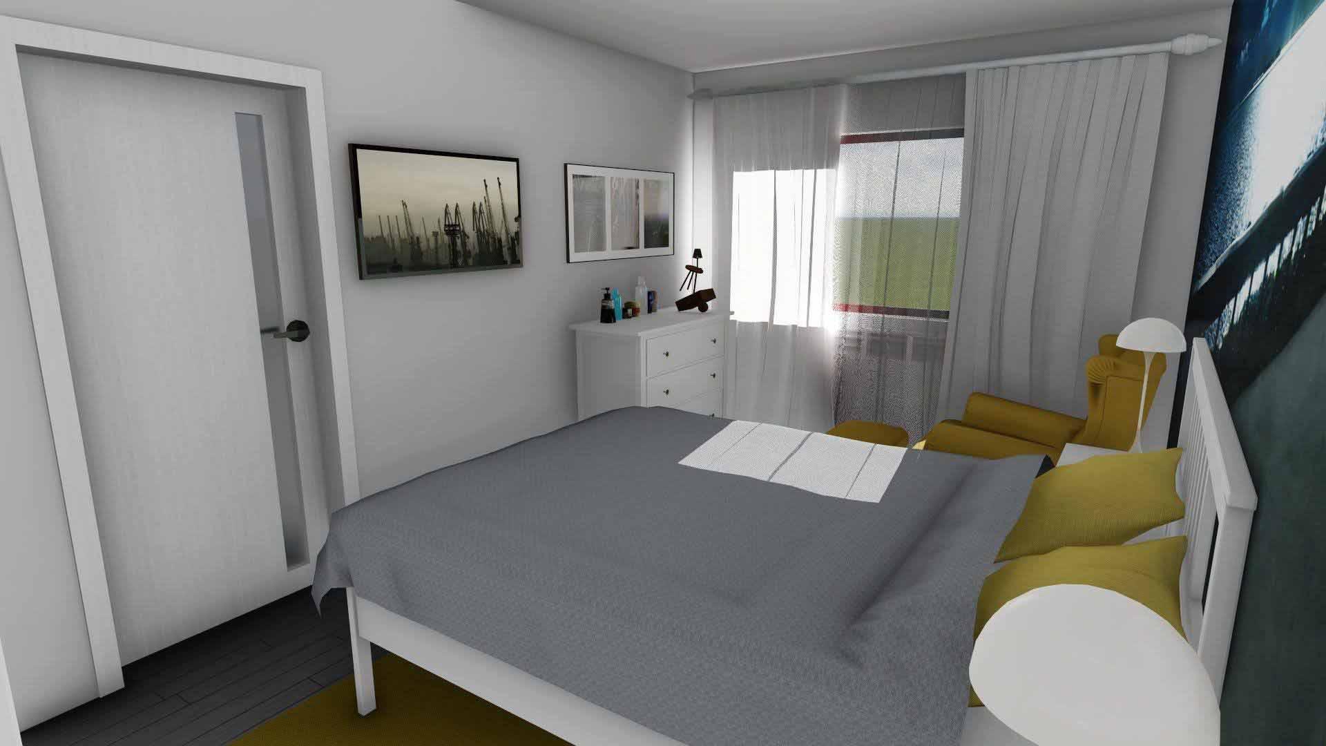 dormitor feminin