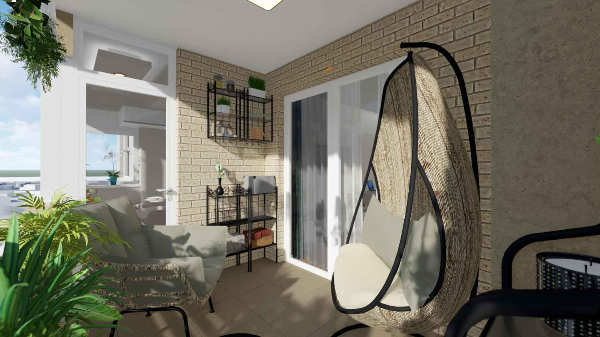 balcon apartament