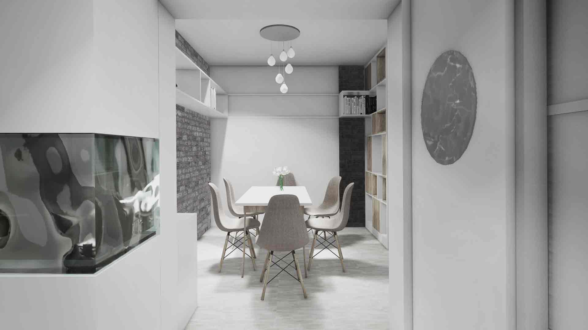 loc de luat masa in apartament