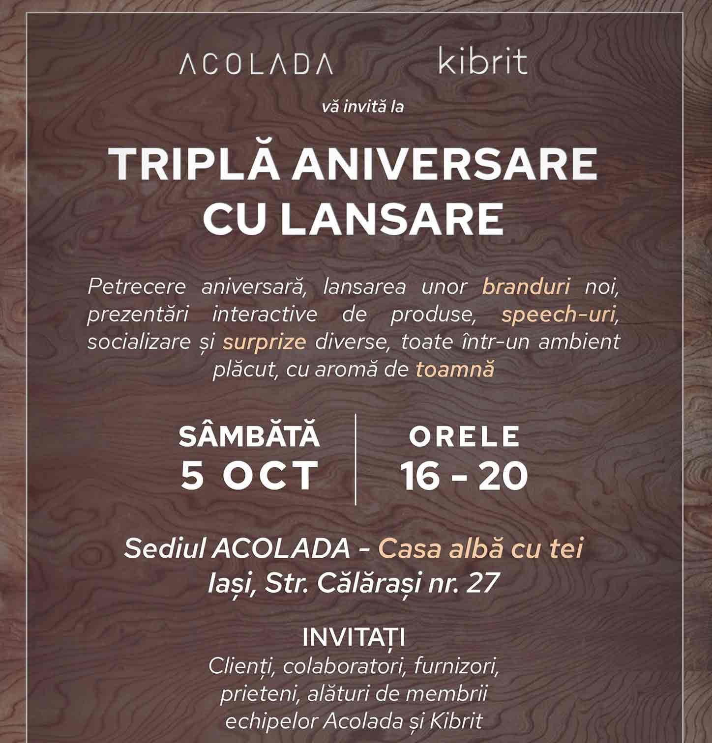 invitatie eveniment