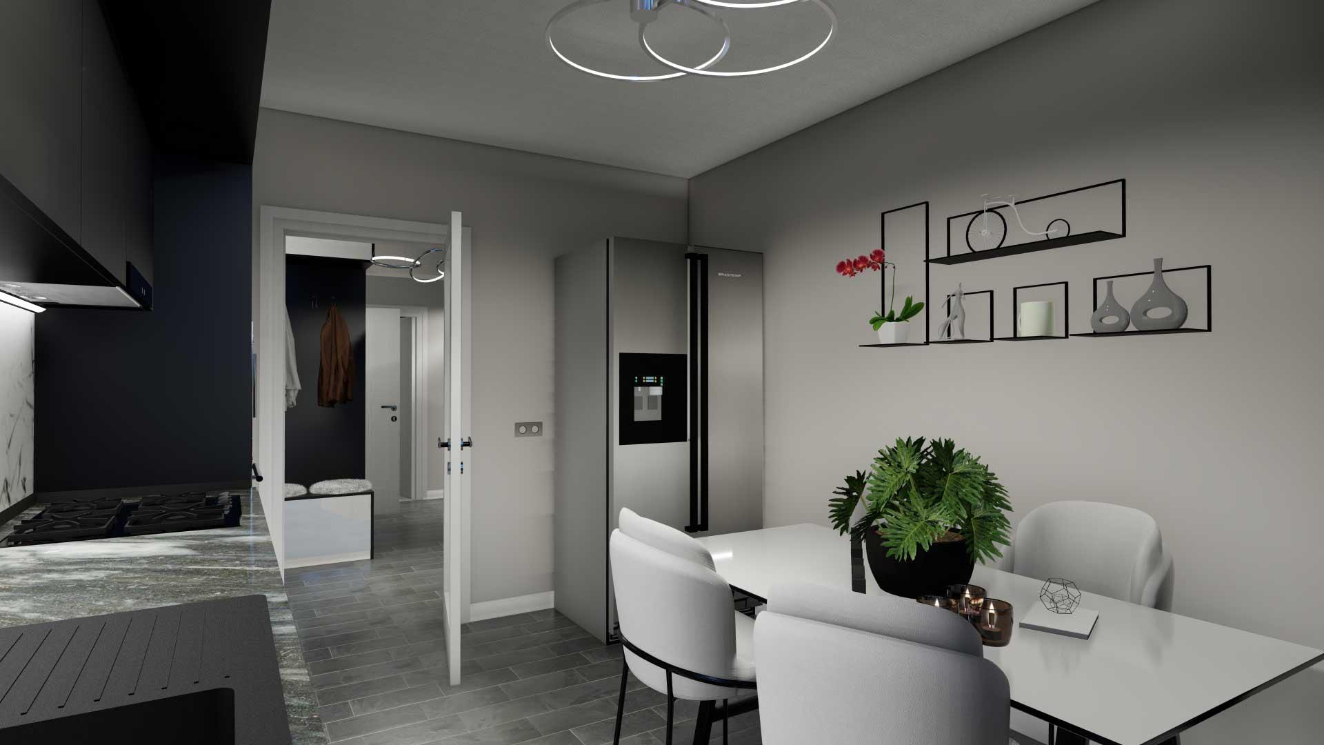 bucatarie apartament