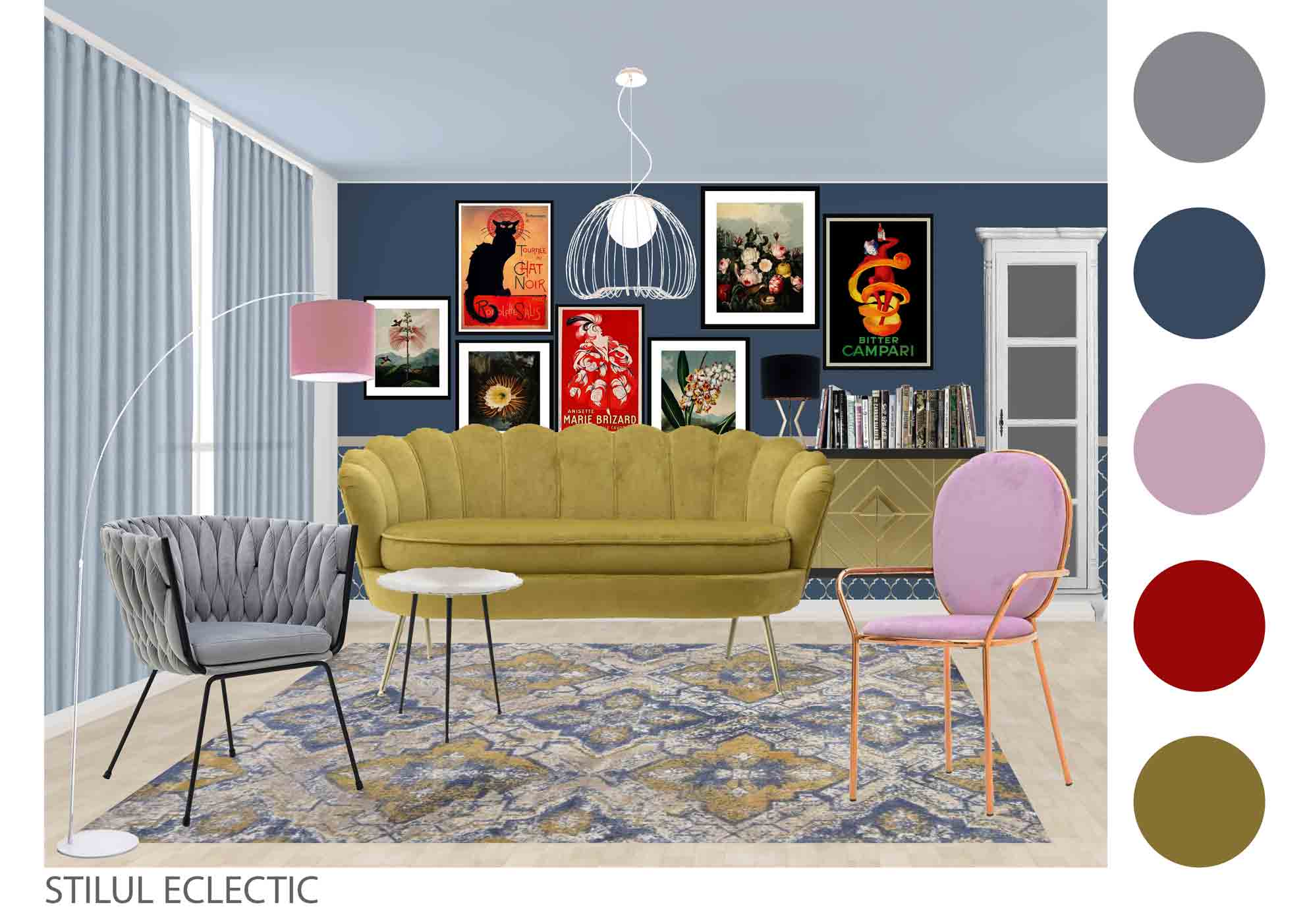 living stilul eclectic