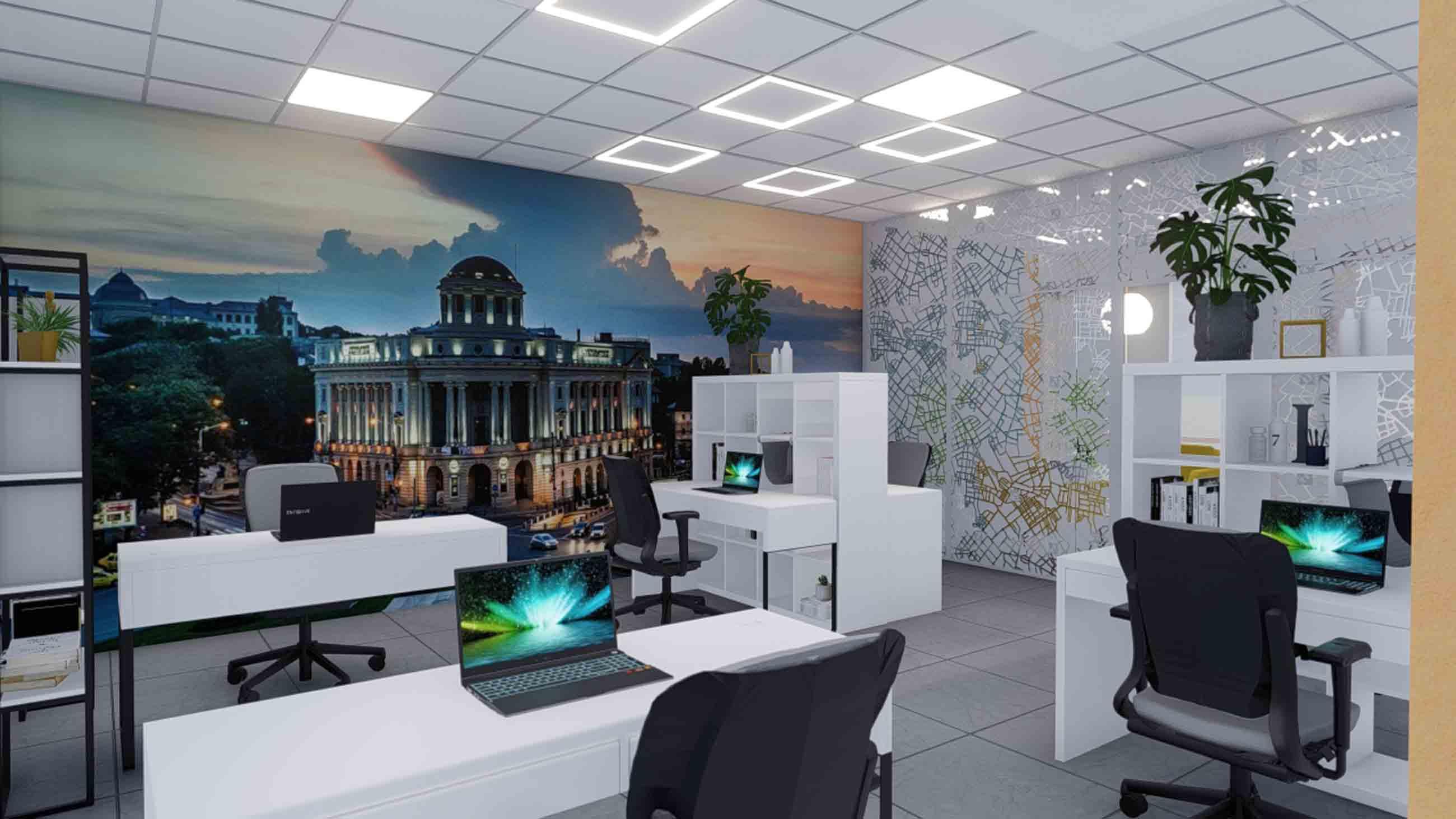 birou modular